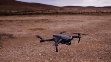 A DJI drone.