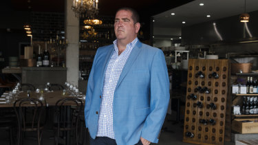 David Singer, owner of Frenchies Brasserie in Elanora Heights.