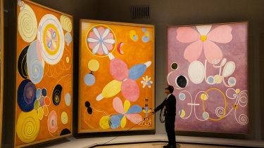 The Art Gallery of NSW's popular Hilma af Klint show has gone online.
