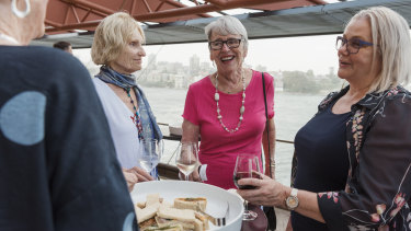 After a lifetime of going to the opera, Ellen Kassel of Narrabeen, in pink, stopped going after her husband died. Now a new program called Opera for One has won her back along with Vilma Juffermans, who spends three months in Australia every year.