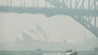 Sydneysiders experienced an unprecedented 28 days of hazardous air quality last year.