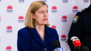 NSW Chief Health Officer Dr Kerry Chant has been front and centre this season.