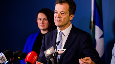 Attorney-General Mark Speakman announces proposed changes to the law around sexual consent.