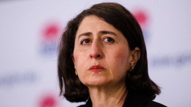 Premier Gladys Berejiklian said data shows the worst is yet to come in the Delta outbreak.