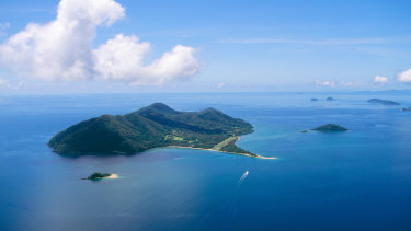 Dunk Island was a renowned resort destination until it was ravaged by cyclones.