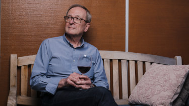 Wine connoisseur James Tinslay lost his palate after contracting coronavirus on holiday in the US.