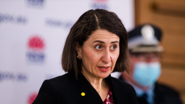 Gladys Berejiklian says the vaccine rollout is critical to how any society lives with the Delta strain.