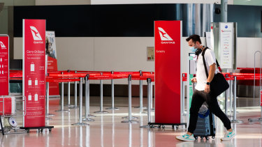 Qantas has scheduled international flights to start from December 18.
