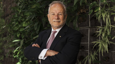 GWS chairman and former Business Council of Australia boss Tony Shepherd.