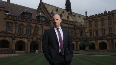 University of Sydney vice-chancellor Michael Spence.