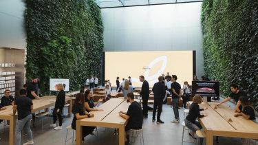 Apple's new offices in Bondi Junction.