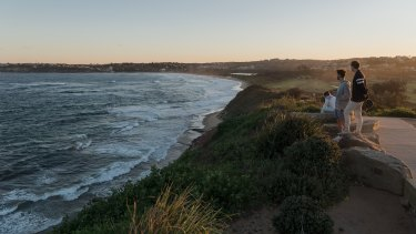 The Long Reef Headland is one of the proposed sites for public art along the Northern Beaches Coast Walk.