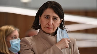 NSW Premier Gladys Berejiklian encouraged workers to get vaccinated as it would give the government more options.