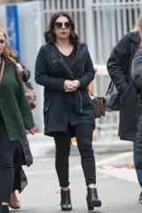 Hizir Ferman's sister Belle Ferman leaves the coroners court on Friday.