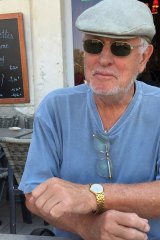 Bob Sorby relaxing in the French village where he spent part of his retirement.