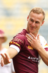 Daly Cherry-Evans backed Corey Norman with actions as well as words.