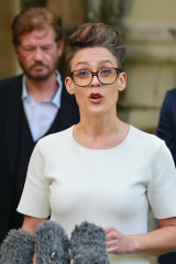 Human Rights Act for Queensland campaign co-ordinator Aimee McVeigh.