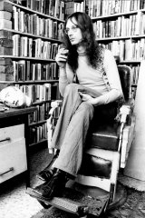 Martin Johnston at home in Camperdown in 1973.