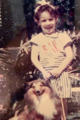 Kara aged seven at her  home in Brisbane.