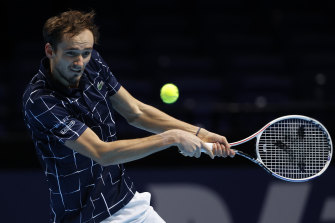 Daniil Medvedev has been mighty in London.