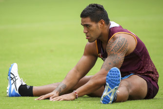 A drink-driving charge means Joe Ofahengaue will sit out the start of the Broncos' season.
