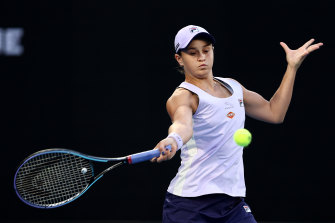Ashleigh Barty has pulled out of the doubles to focus on the singles event.