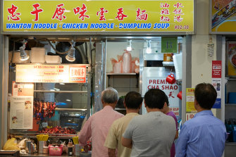 The hawker markets were first established in the 1970s as part of a push to clean up stalls.