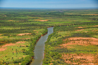 The Ashburton River in the Pilbara.
