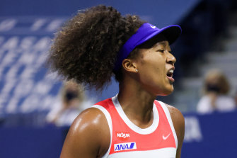 Naomi Osaka has reached the US Open final.