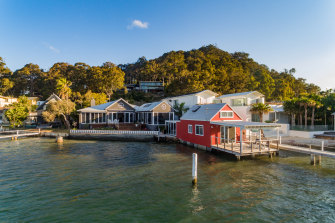 The waterfront home in Wagstaffe on Sydney's Central Coast purchased by Bill Papas.