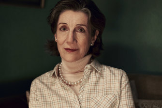 English actor Harriet Walter stars in Australian television drama The End.