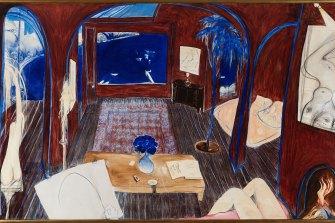 Henri's Armchair, by Brett Whiteley, 1974-75, was sold for $6.136 million in November 2020