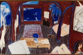 Henri's Armchair, by Brett Whiteley, 1974-75, was sold for $6.136 million , by Menzies in November.