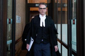 Lawyer Nicholas Owens has a big job ahead of him.