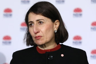 Premier Gladys Berejiklian says NSW will continue to rely on restrictions to fight COVID-19 unless it has more Pfizer vaccine doses.