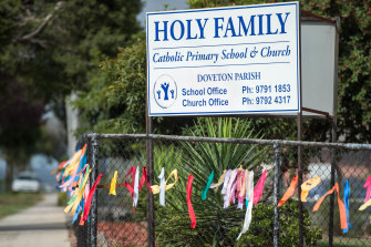 Holy Family Primary School in Doveton