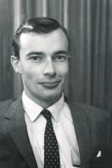 Young colt: Les Carlyon in his early days as a reporter at The Age.