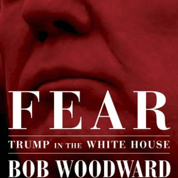 <em>Fear: Trump in the White House</em> by Bob Woodward.