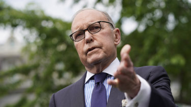 Larry Kudlow,  Donald Trump's chief economic adviser, has conceded that it will be US importers and consumers, not China, that pay for the Trump tariffs.