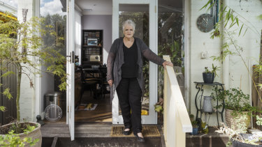 "Sue Templeman is among at least 4500 Sydney residents whose homes lie in the project's ""zone of influence""."