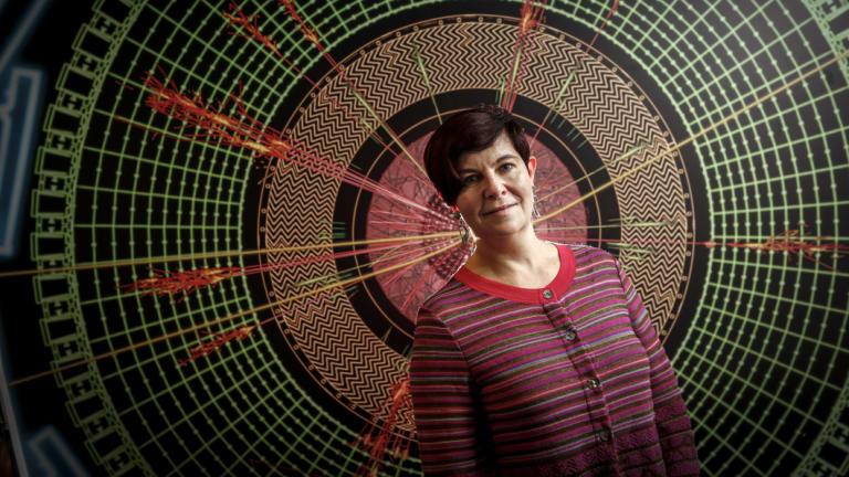 Professor Elisabetta Barberio of Melbourne University.