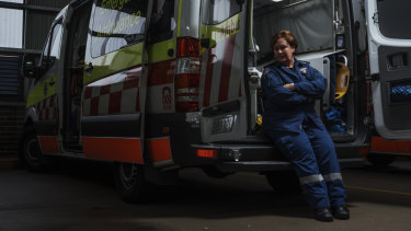 Ambulance officer Gabbi has had many dangerous situations in her job.