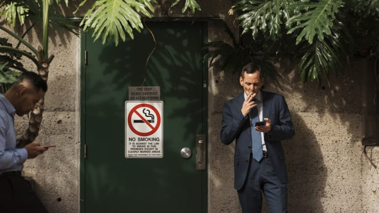North Sydney Council wants the entire municipality to be smoke-free.