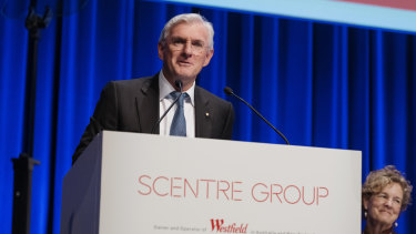 Thursday was Steven Lowy's last day on the board of Scentre as a non-executive director.