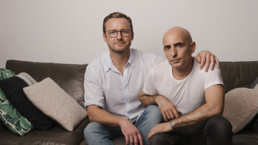 """Joseph Lawler (left) and Rafael Bonachela. """"It's healthy to have different careers. We're both passionate about what we do and give each other space,"""" says Joseph."""