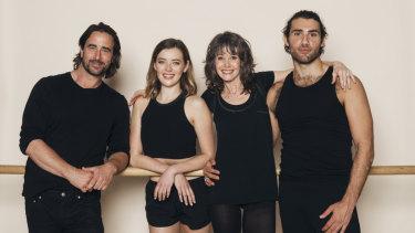From left, Kip Gamblin, Mia Thompson, Sheree da Costa and Dimitri Kleioris.