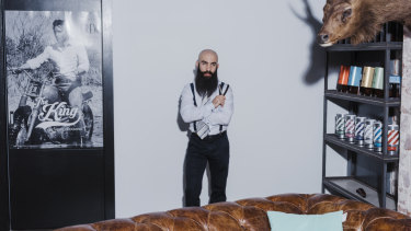 Hanan Ben-David advises fuzz fiends to never cut their own beard at home.