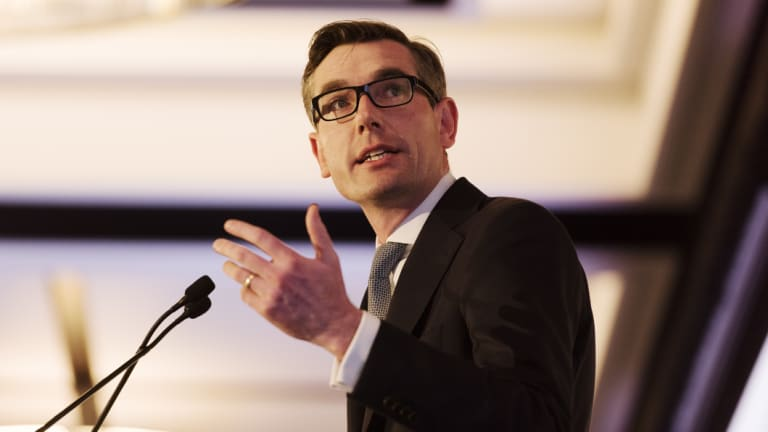 NSW Treasurer Dominic Perrottet says the treasury has a role to play 'in making sure there is a level playing field'.