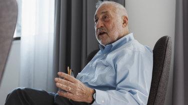 Joseph Stiglitz, economics professor at Columbia University, says governments must act to address inequality.