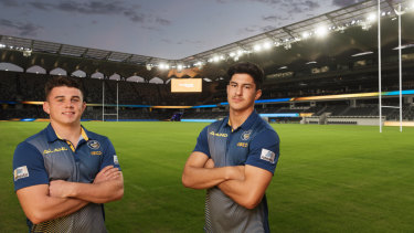 New home: The Eels have built their strategy around new home ground Bankwest Stadium.